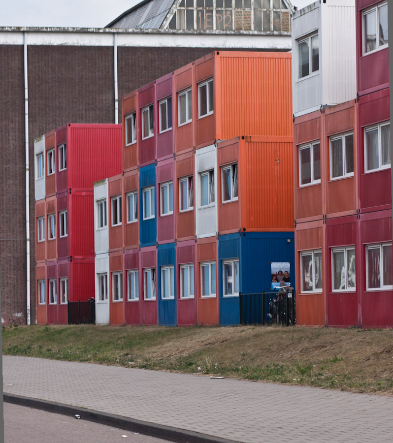 Keetwonen Student Housing in Containers